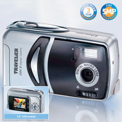 Traveler 5MP Digital Camera from Aldi