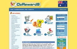 OzRewards Homepage